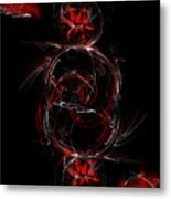 Crimson Dream Metal Print
