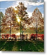 Crisp Autumn Day Metal Print