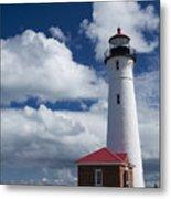 Crisp Point Lighthouse 7 Metal Print