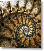 Crispy Crackles Metal Print