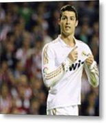 Cristiano Ronaldo 4 Metal Print