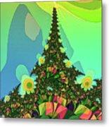 Cristmas Tree 2 Metal Print