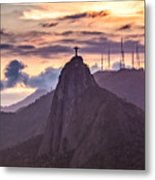 Cristo Redentor - Christ The Redeemer Metal Print