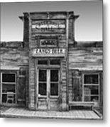 Criterion Hall Saloon -- Montana Territories Metal Print