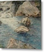 Crivitz Creek Metal Print