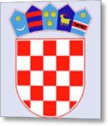 Croatia Coat Of Arms Metal Print