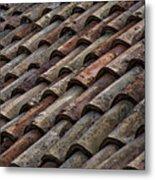 Croatian Roof Tiles Metal Print