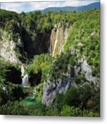 Croatias Wonders Metal Print