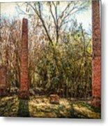 Crocheron Columns Metal Print