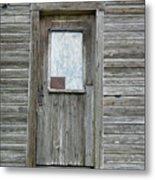 Crooked Door Metal Print