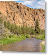 Crooked River II Metal Print