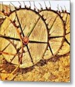 Crop Circles Metal Print