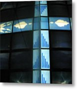 Cross Channels Metal Print