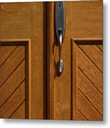 Cross Handle Metal Print