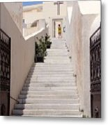 Steps To Salvation Metal Print