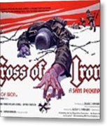 Cross Of Iron Theatrical Poster 1977 Metal Print