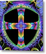 Cross Of One Way To God Metal Print