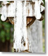 Cross Of Stone Metal Print