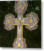 Cross Of The Epiphany Metal Print
