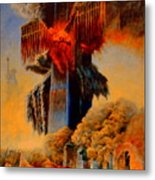 Cross Of The Third Millennium Metal Print