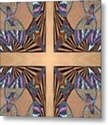 Cross Reflections Metal Print