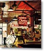 Cross Street Market In Baltimore Metal Print