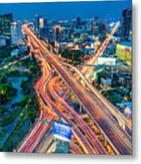Cross Town Traffic Metal Print
