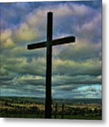 Cross Without Words Metal Print