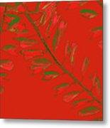Crossing Branches 16 Metal Print