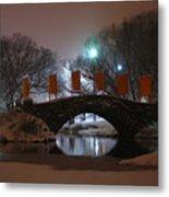 Crossing Gapstow Bridge Metal Print