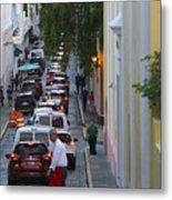 Crossing San Juan Metal Print