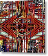 Crossing To Eye V 3 Metal Print