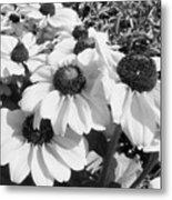 Crowded Flowers Metal Print
