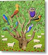 Crowded Tree Metal Print