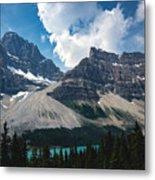 Crowfoot Mountain Metal Print