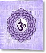 Crown Chakra - Awareness Metal Print