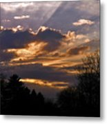 Crown Cloud Metal Print