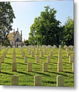 Crown Hill National Cemetery, Indianapolis, Indiana Metal Print