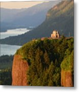 Crown Point And Columbia River Metal Print