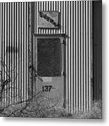 Crows Landing Base Supply Metal Print