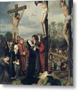 Crucifixion Metal Print by Eduard Karl Franz von Gebhardt