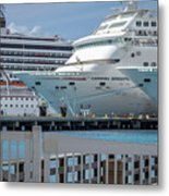 Cruise Ship Trio Metal Print