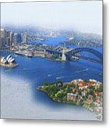 Cruise Sydney Metal Print