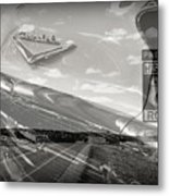 Cruisin Route 66 Metal Print