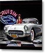 Cruisin' The Diner .... Metal Print