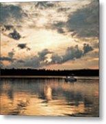 Cruising, Eagle Lake, Almaguin Highlands, Ontario Metal Print