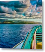 Cruising Hispaniola Metal Print