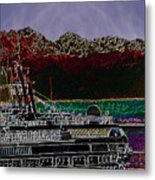 Cruising Puget Sound Metal Print