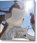 Cruising The Sea Of Cortez Metal Print