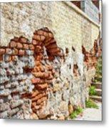 Crumbling Wall Metal Print